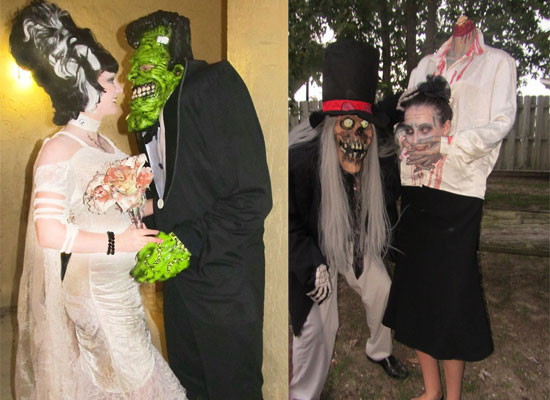trajes halloween monster