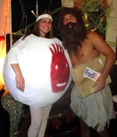 trajes halloween naufrago tom hanks wilson