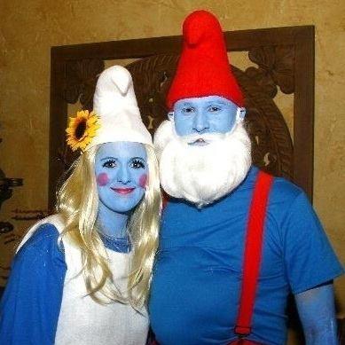 trajes halloween pitufos