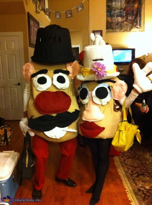 trajes halloween potato