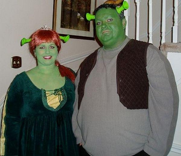 trajes halloween shrek