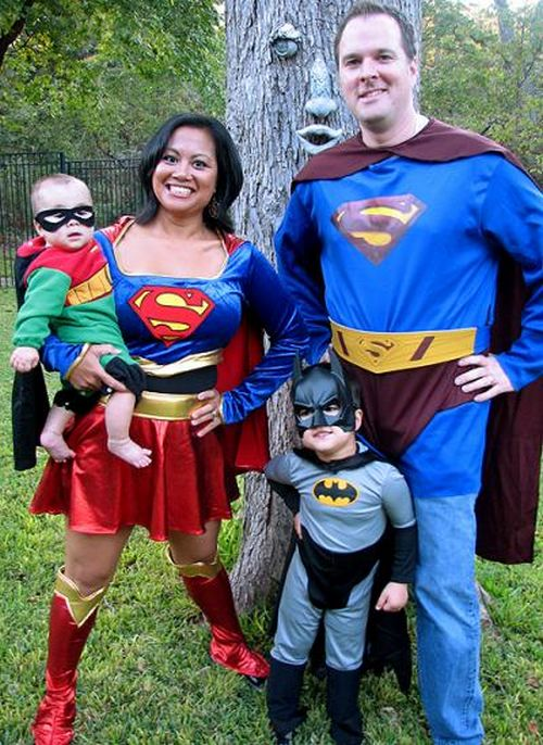trajes halloween superheroes