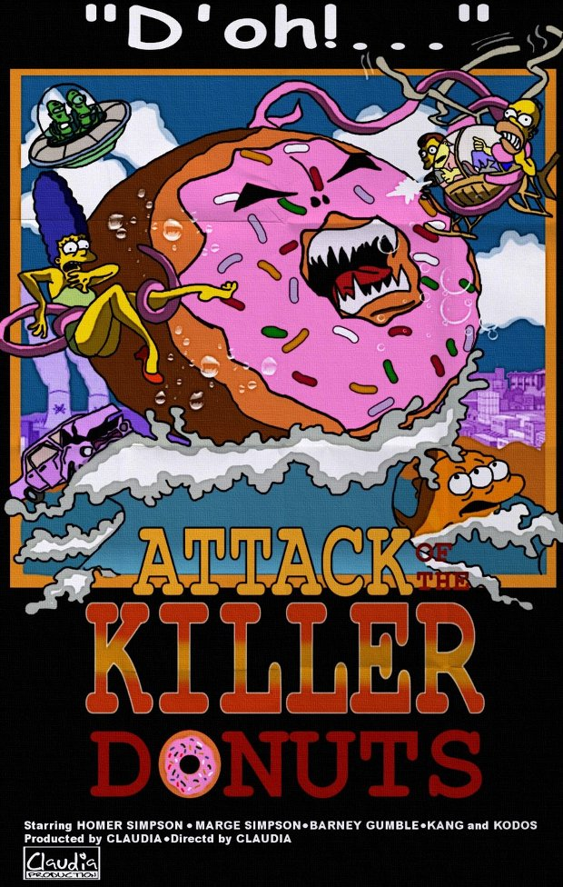 Attack killer tomatoes ataque tomates asesinos simpsons