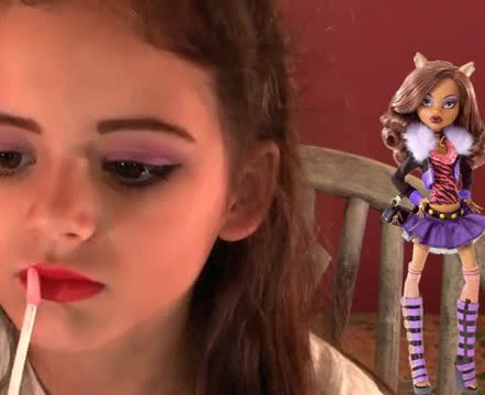 Clawdeen-Wolf-Monster-High-maquillaje