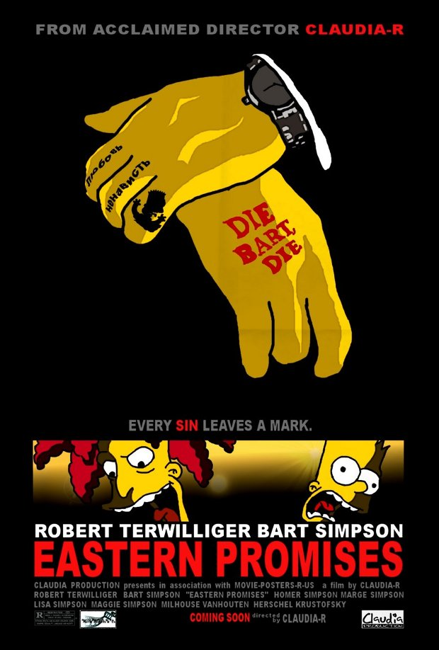 Eastern Promises promesas este simpsons
