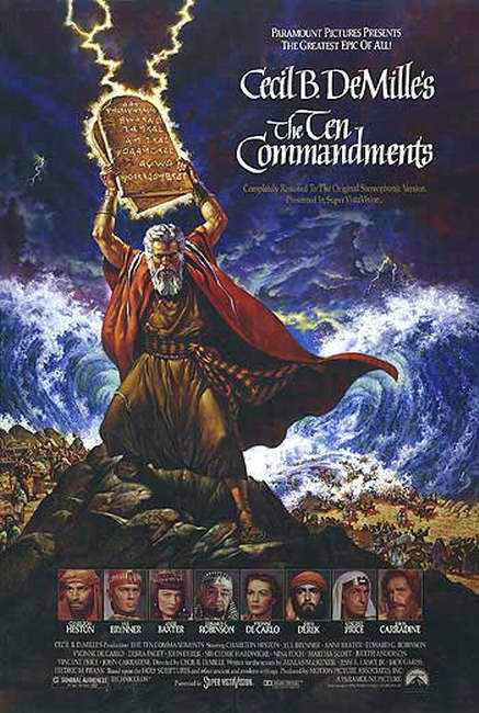 Ten Commandments diez mandamientos
