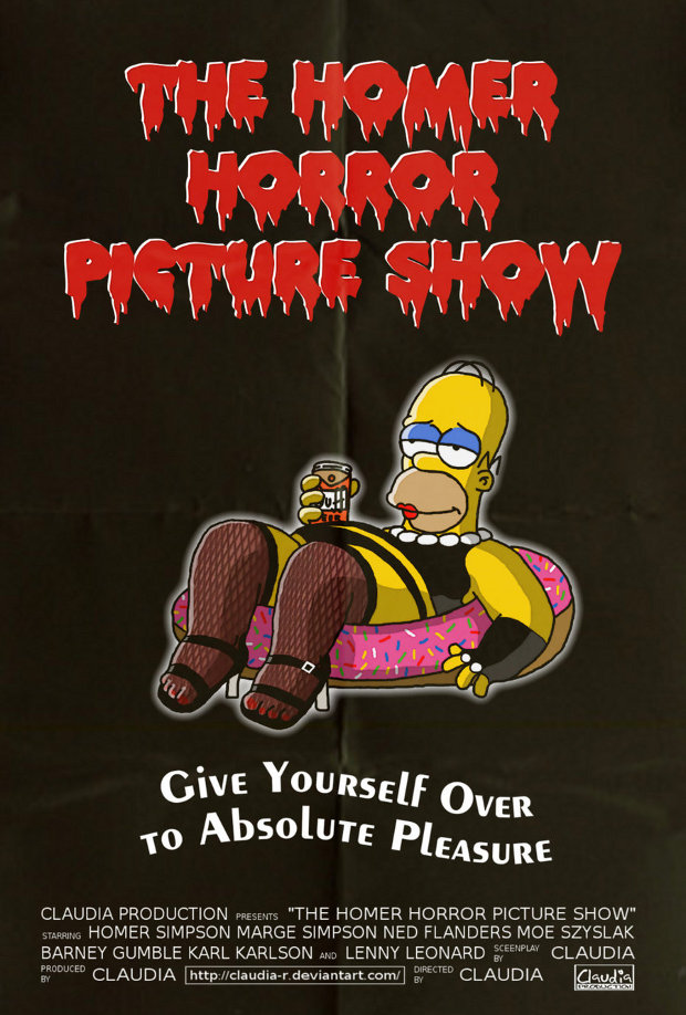 The rocky horror picture show simpsons