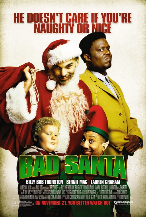 bad santa pelicula