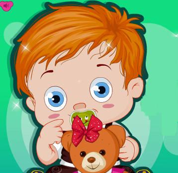 bebe-osito-peluche