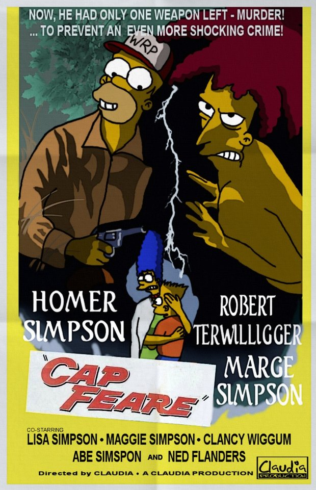 cape fear cabo terror simpsons