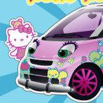 Tunear el coche de Hello Kitty