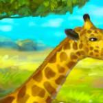 Cuidadora de jirafas