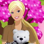 Barbie cuidadora de animales bebé