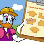 Juego de construir casas con Daisy