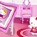 Decorar la habitación con Hello Kitty