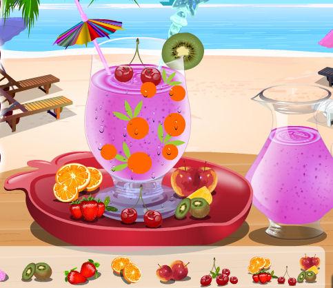 decoracion vaso jugo