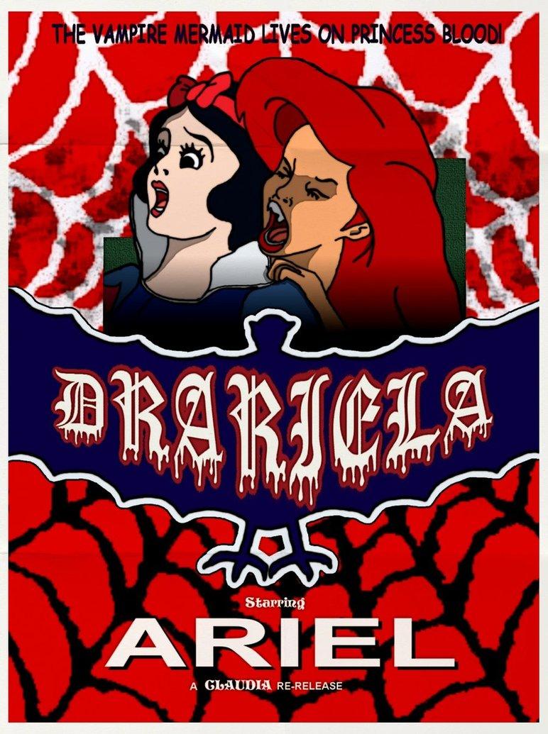 drariela dracula poster parodia