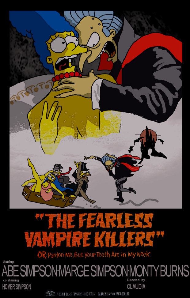 fearless vampire killers baile vampiros simpsons