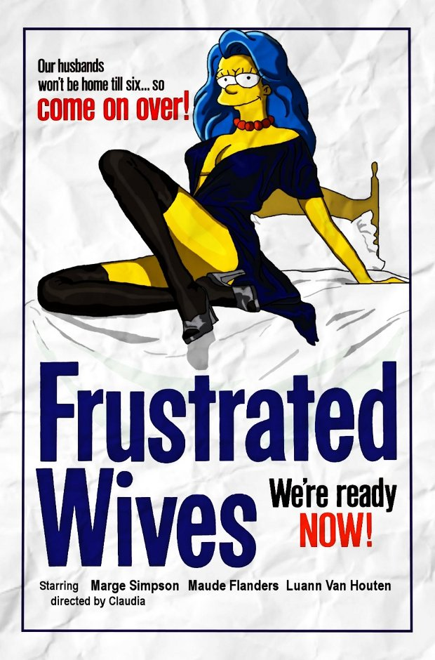 frustrated wives simpsons