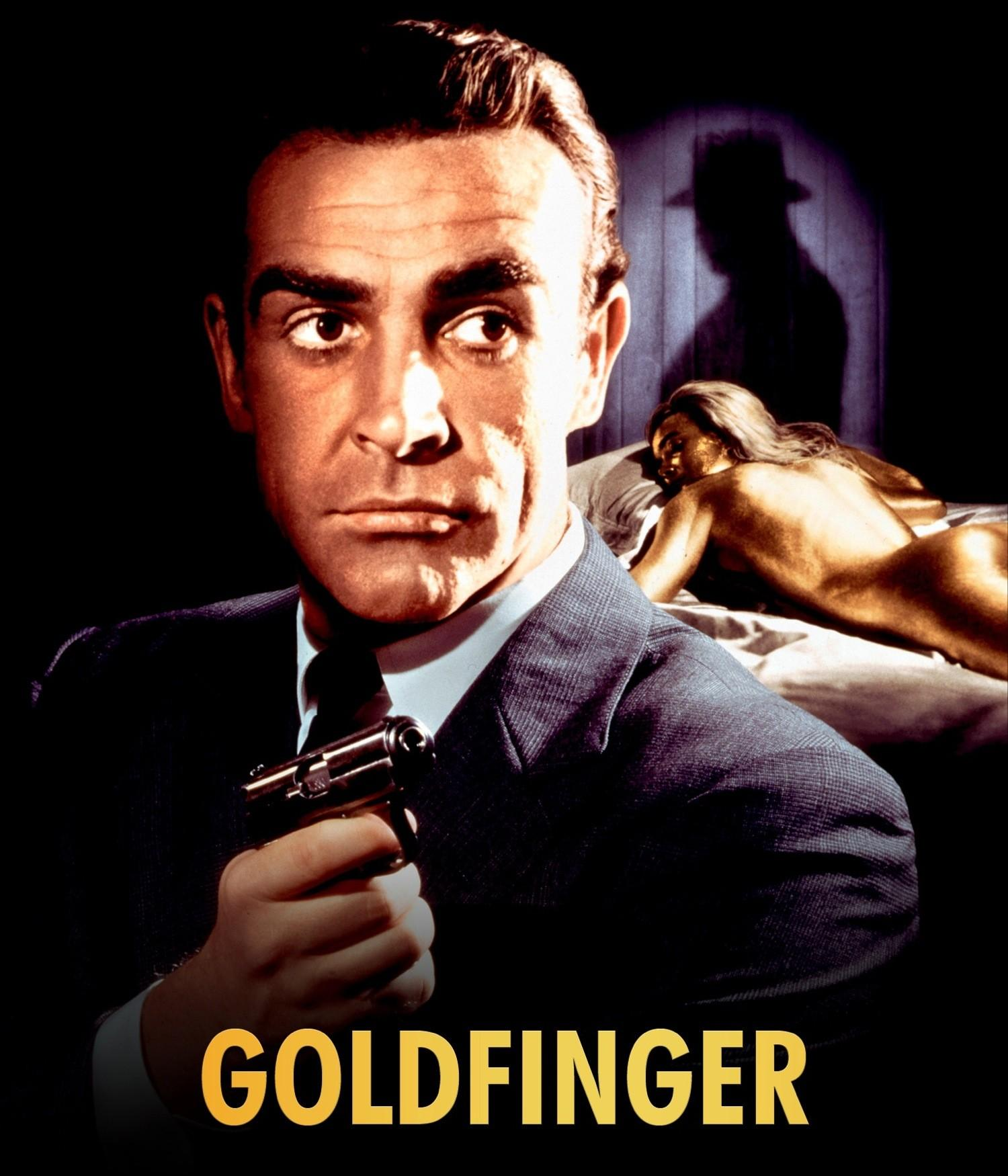 goldfinger james bond 007