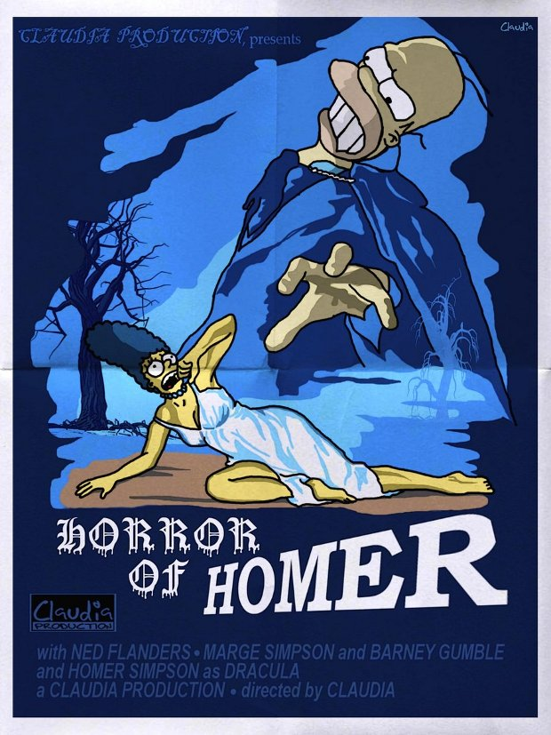 horror of dracula simpsons