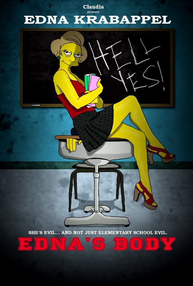 jennifers body simpsons