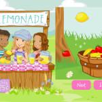 Juego de limonadas y zumos de fresa