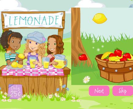 juego limonadas jugos fresa
