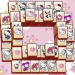 Juego de mahjong con Hello Kitty