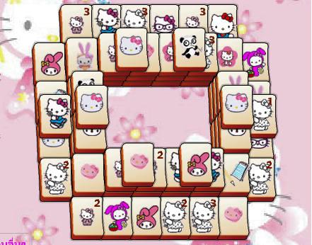 juego-mahjong-hello-kitty