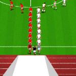 Juego de jugar al futbol