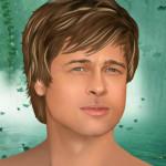 Juego de peinar a Brad Pitt