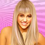 Juego de peluquería con Miley Cyrus