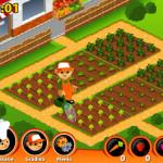 Juego de plantar frutas y hacer jugos