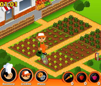 juego plantar frutas hacer jugos