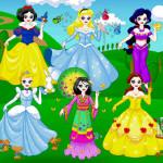 Juego de vestir a las princesas Disney