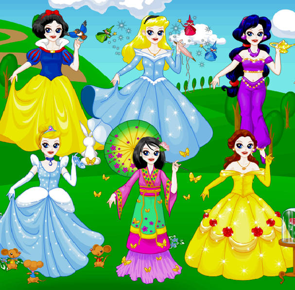 Set cotill princesas disney mercadolibre apps directories for Muebles de princesas