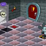 Juego de puzzle con el robot Mickey Mouse