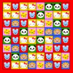 Juego de tablero tipo Jewels con Hello Kitty