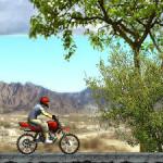 Juego de trial con motos