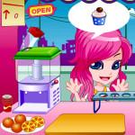 Juego de vender jugos en la heladería