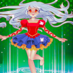 Juego de vestir al estilo manga y anime