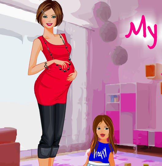 juego-vestir-mujer-embarazada