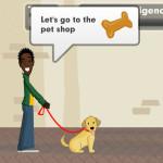 Ayudar al perro guía