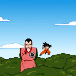 Lucha de Goku contra Tao Pai Pai