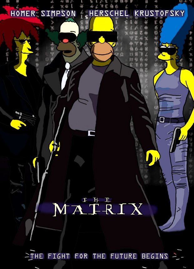 matrix simpsons