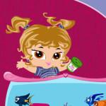 El acuario de la bebé Bratz