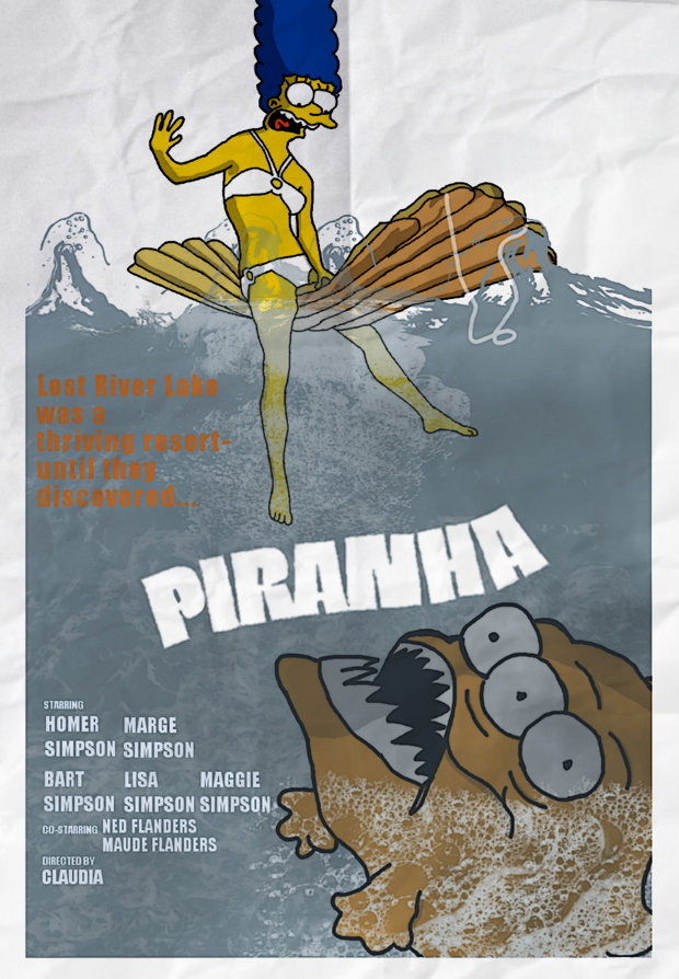 piranha pirana simpsons
