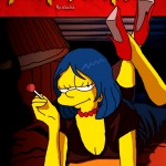 Parodias de carteles de películas con Los Simpson