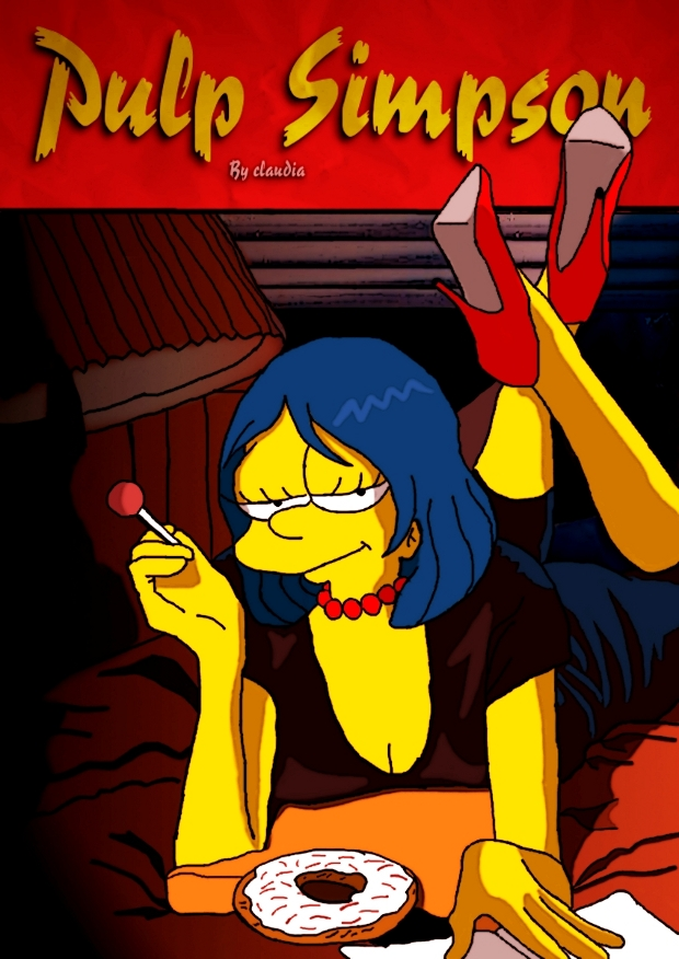 pulp fiction simpsons